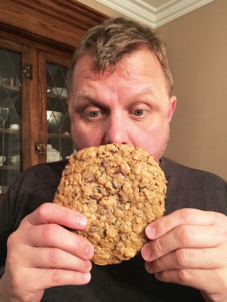 That's one big cookie.